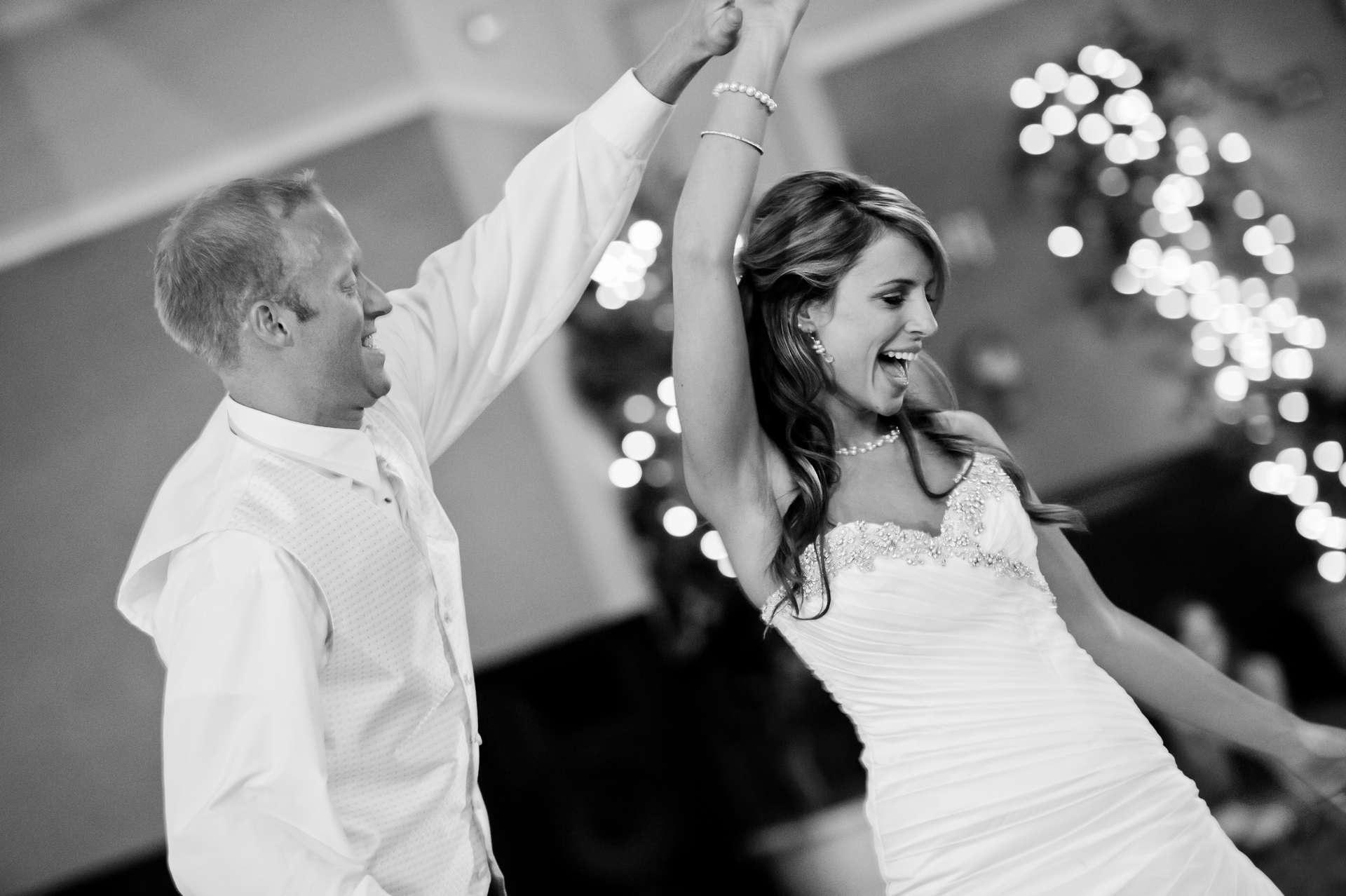 Wedding DJ Bride and Groom